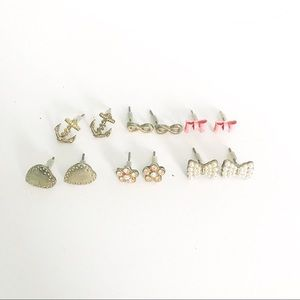 Post Earring Multi-Pack American Eagle(with backs)